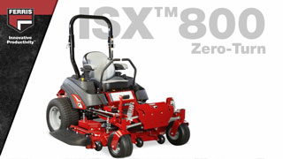 Feature Overview: 2019 Ferris ISX™800