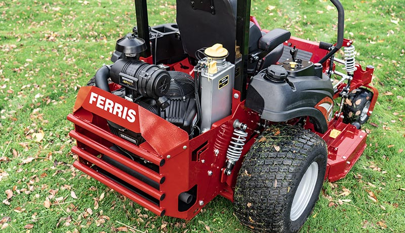 Ferris Zero Turn Mower with Oil Guard
